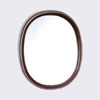 柳宗理 / 牆安裝在牆上的鏡子和穿衣鏡,鏡子和橢圓形 S,古色 [牆鏡、 壁掛、 穿衣鏡,鏡子的孢子囊柳]
