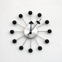 【100円offクーポン】ハワードミラー社 / ジョージネルソン ボールクロック [ジョージネルソンの掛け時計ボールクロック]/silver