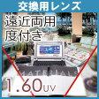 【交換用】1.60遠近両用レンズ(2枚 1組)ハードマルチコート(撥水コート付、UV加工付)