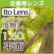 【交換用】眼精疲労予防レンズ ネッツペックコーティングレンズ 伊達メガネ用 度無し レンズ平面 1.60(2枚一組)