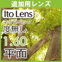 【追加用】眼精疲労予防レンズ ネッツペックコーティングレンズ 伊達メガネ用 度無し レンズ平面 1.60(2枚一組)