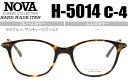 ■ノヴァ NOVA■デミブルー/アンティークゴールド■鼻盛り型■【度無し/度付き】【メガネ】【眼鏡】【日本製】【送料無料】■H-5014 C-4 nov020