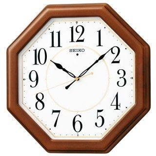 掛け時計 男女兼用 セイコー 電波 KX389B プレゼント 父の日 P08Apr16