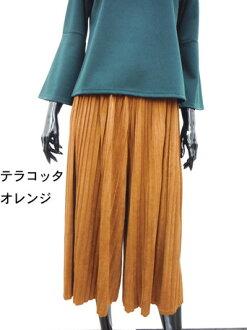 長褲裙子婦女底麂皮絨牧人褲子掃描 scurcio 女士裙子流行裙褲