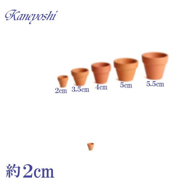 植木鉢 陶器 おしゃれ サイズ 2cm ミニミニテラコッタ