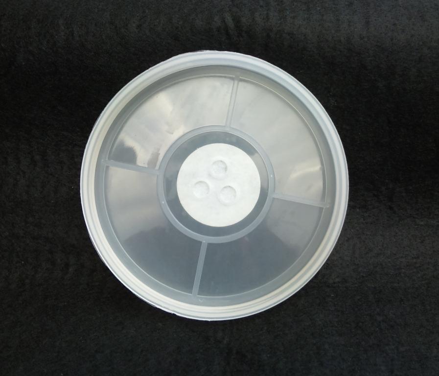 クリアボトル 1500ml・3250ml 共用フタ(穴あけ加工済、フィルター付き)