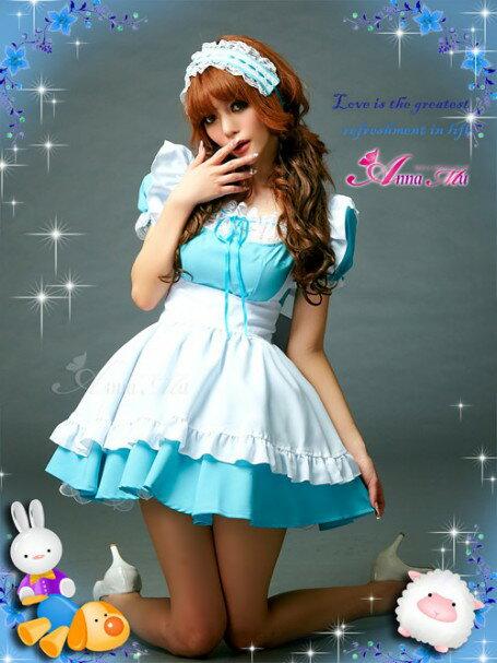 メイド服 コスプレ メイド キャラクター コスチューム 大人 セクシー ハロウィン コスプレ衣装 アリス コスチューム 仮装 衣装 激安通販 なりきり halloween costume AKB48:DOUBLE(ダブル)