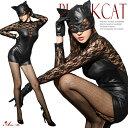 コスプレ 黒猫 仮装 ネコ 猫 キャットスーツ コスプレ衣装...