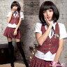 コスプレ セーラー服 制服 コスプレ衣装 アイドル セクシー ハロウィン コスチューム 衣装 学生服コスチューム 女子高生 ミニスカ AKB48 こすぷれ JK制服 激安 学園祭 レディース こすぷれ