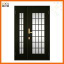 玄関ドア クリエラR 親子ドア 14型ランマ無 ドアクローザー付 LIXIL/TOSTEM
