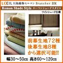 ツインシェード ローマンシェード 幅30〜50 丈60〜120cm LIXIL/川島織物セルコン ブランシェDX
