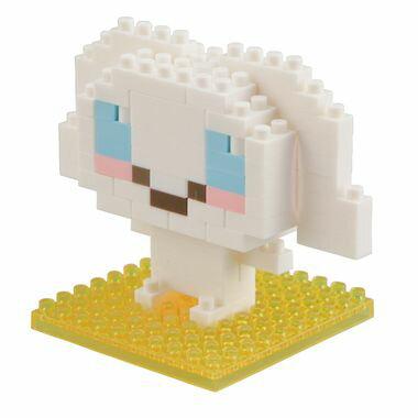 ナノブロック シナモロール nanoblock/nanoブロック/マメログ/mamelog/ダイヤブロック おもちゃ・知育玩具