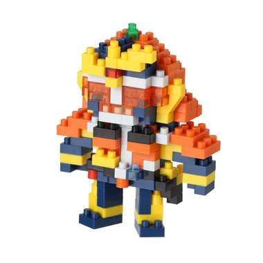 ナノブロック NBTN_003 仮面ライダー鎧武 オレンジアームズ nanoblock nanoブロック マメログ mamelog ダイヤブロック おもちゃ 知育玩具
