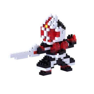 ナノブロック NBTN_010 仮面ライダーウィザード フレイムスタイル nanoblock nanoブロック マメログ mamelog ダイヤブロック おもちゃ 知育玩具