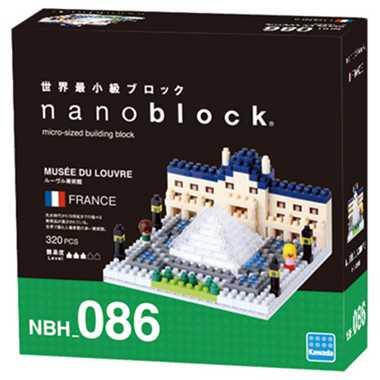 ナノブロック ルーヴル美術館 nanoblock nanoブロック マメログ mamelog ダイヤブロック おもちゃ 知育玩具