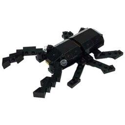 ナノブロック プラス ギラファノコギリクワガタ nanoblock+ nanoblock nanoブロック マメログ mamelog ダイヤブロック おもちゃ 知育玩具