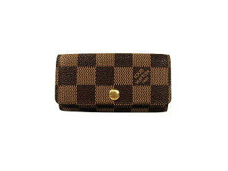 Louis Vuitton Damier 4 books for key holder key holder 4 N 62631 LOUIS VUITTON
