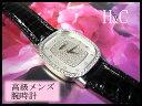 【68%OFF】 H&CO 平和堂 Pt ダイヤモンド入り プラチナ 高級品 メンズ 時計 【質屋出店】 ★ゴージャス系★