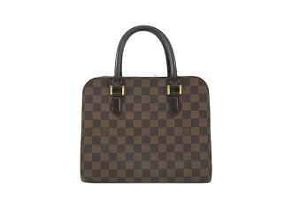 VUITTON LOUIS VUITTON handbags Louis Vuitton Damier Triana N51155 back