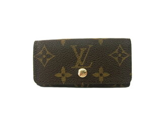 Louis Vuitton Monogram key holder key holder 4 LOUIS VUITTON 4 books for
