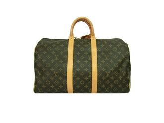 ☆ Louis Vuitton Monogram keepall 50 M 41426 Boston bag LOUIS VUITTON bag for travel