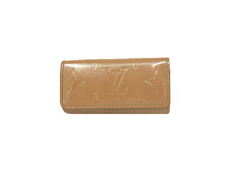 Louis Vuitton Vernis key case four for multicore 4 M 91358 LOUIS VUITTON