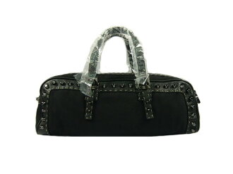 Fendi calf handbag black FENDI