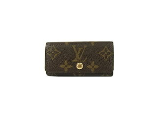 ☆4 key case LOUIS VUITTON ミュルティクレ M62631 for four Louis Vuitton monogram