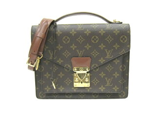 Louis Vuitton Monogram Monceau men back M51185 LOUIS VUITTON hand Vuitton