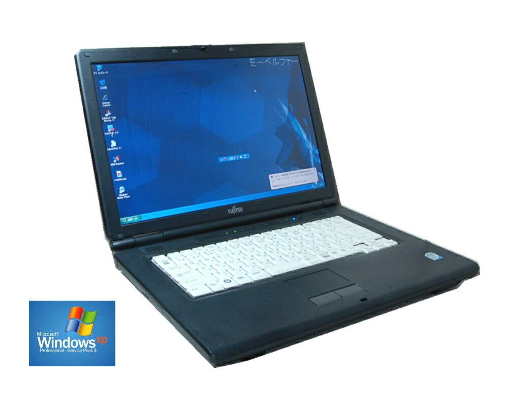 いまさらですが WINDOWS XP搭載 90日保障 XPなら快適動作 FUJITSU A540/A6290 セルロン 2.20G WINDOWS XP ソフトに最適 メモリー2.0G 160G DVD鑑賞 (英語版XP変更可)【中古】