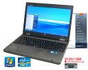 中古パソコン 90日保障 英語版WINDOWS 7 HP BY HITACHI 6550B 安心日本生産 英語キーボード互換 Core I5 2.40G シルアル(RS232C)..