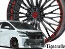 【組み込み・バランス調整済】 ティニャネロ 夏用 タイヤ ホイール 4本セット◆225/40R18◆
