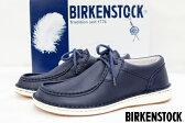 【BIRKENSTOCK】 Pasadena ビルケンストック パサデナ コンフォートシューズ 37 24.0cm ネイビー 未使用 【中古】