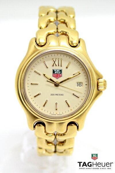 【TAGHEUER】 タグホイヤー セルシリーズ セル  腕時計 クォーツ アイボリー文字盤 ゴールドカラー 504.713M 【】 メンズ ブランド 腕時計 ごほうび 人気 高級 クオーツ ウォッチ タグホイヤー