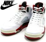 ナイキ AIR JORDAN エアジョーダン5 レトロ 2013 27.5cm 136027-120 ファイヤーレッド 箱付き スニーカー 靴 メンズ 未使用 RC2016