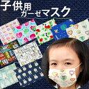 新柄入荷 マスク 日本製【子供用ガーゼマスク 1枚入】ダブルガーゼ6枚重ね こども 手作り マスク 防災グッズ 日本製 給食用に!