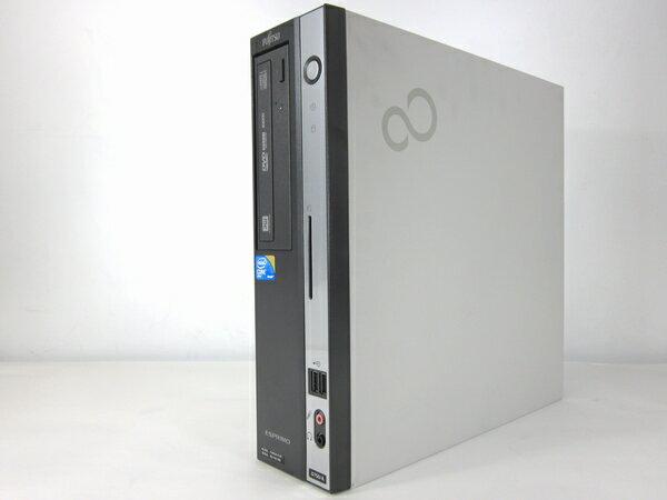 中古パソコン 【Windows7】[F94D] 富士通 ESPRIMO D750/A (Core i5 3.2GHz 4GB 160GB DVDマルチ Windows7 Professional)【中古デスクトップ】【中古】