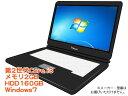 中古ノートパソコン【Windows7】 [X52Aw][無線LAN対応][わけあり大特価] 第2世代Core i3 Windows7機種問わずノートパソコン【中古PC】..