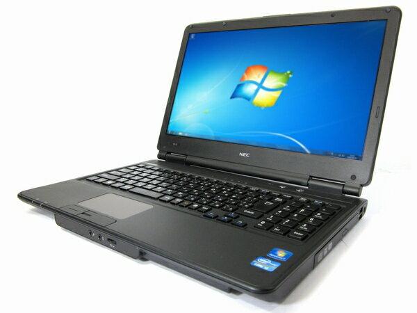 中古パソコン 【Windows7】[N88A][テンキー搭載] NEC VersaPro VX-D (Core i3 2.2GHz 4GB 320GB DVD Multi Windows7 Pro 64bit)【中古ノートパソコン】【PC】【アウトレット】【中古】