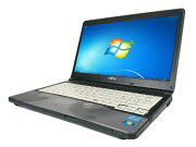 中古パソコン【Windows7】[F37Bw][無線LAN対応][わけあり品] 富士通 LIFEBOOK S762/E / S762/G (Corei5 3320M 2.6GHz 4GB 320GB DVD-ROM Windows7)【中古PC】【アウトレット】