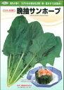 【ほうれん草種子】 晩抽サンホープ (カネコ種苗)プライミング種子M3万粒【野菜の種】