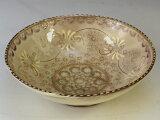 京焼・清水焼 鉢 BTM868-01 紫彩華紋 平小鉢