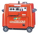送料無料!(沖縄・離島のぞく)新品 新ダイワ エンジン溶接機 EGW2800MI インバーター発電付  shindaiwa