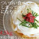 送料無料!4.5kg米粉で作ったこんにゃく麺【RCP】米粉こんにゃく麺150g×30