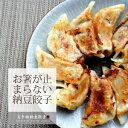 餃子【納豆同梱用!】何度も何度も作って食べた納豆餃子10個。夢中になり、はしがとまらなくなってしまう納豆餃子。