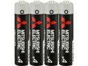 【まとめ買い】三菱 マンガン乾電池(黒)・単4 40本セット(4本入パック×10) R03UD/4S 10P