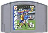 N64 実況ワールドサッカー3 (ソフトのみ)【中古】