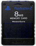PS2 SONY製 メモリーカード【8MB】 (ダークブルー)【中古】