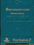 PS2 内存卡【8MB】MAJICGATE制(绿色)【中古】[PS2 メモリーカード【8MB】 MAJICGATE製 (グリーン)【中古】]
