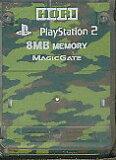PS2 HORI製 メモリーカード【8MB】 (迷彩柄)【中古】